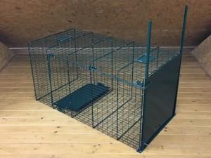 Hondenvangkooi (dicht)